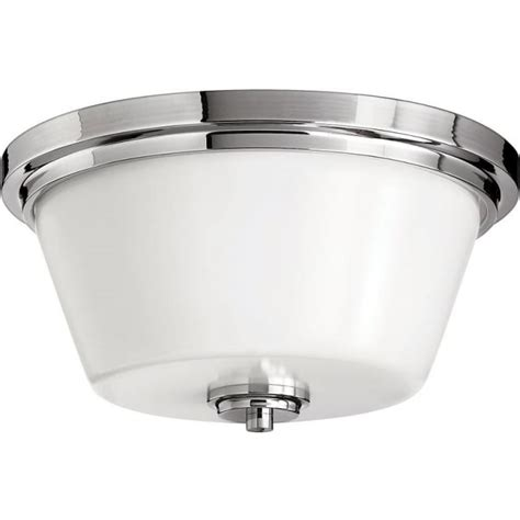 elstead lighting avon 2 light flush ceiling fitting in