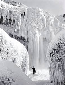 00 Frozen Niagara Falls in 1911. 09.12 | Voices from Russia