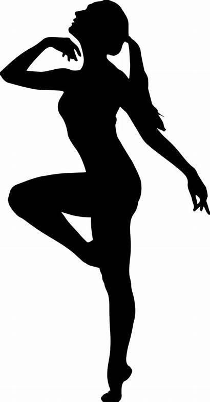 Dancer Silhouette Ballet Dancing Clipart Jazz Clip
