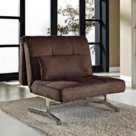 tyson sleeper chair bed brown  lifestyle