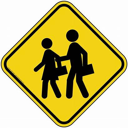 Sign Pedestrian Crossing Symbol Graphic Safety Pke