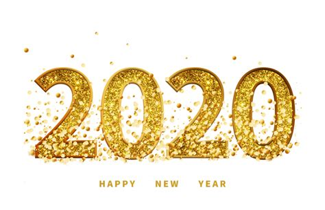 happy  year  text png hd vector  png image