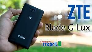 Zte Blade G Lux - Unboxing En Espa U00f1ol