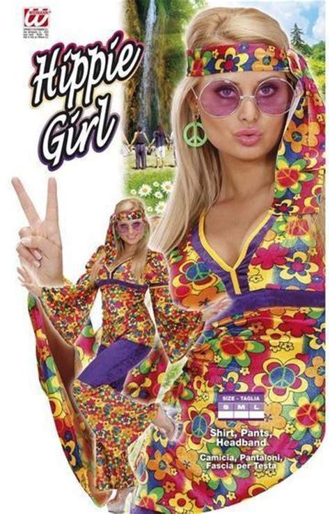 costume di carnevale figlia dei fiori vestito di carnevale hippie e figlia dei fiori