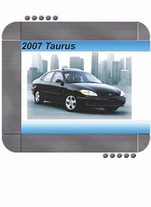 Ford Taurus 2007 Factory Service  U0026 Shop Manual