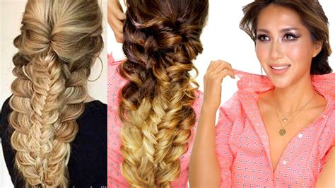 Easy Topsy Braid Hairstyle