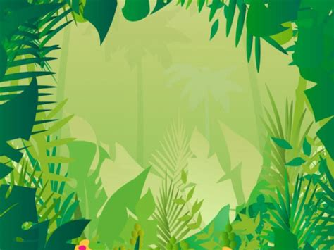 jungle safari photo backgrounds  powerpoint templates