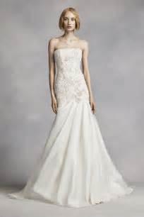 White by Vera Wang Lace Mermaid Wedding Dress - Ivory, 14