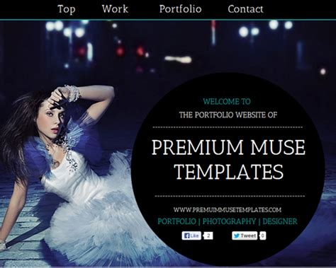Free Adobe Muse Templates Free And Premium Responsive Adobe Muse Templates