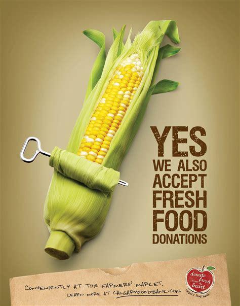cuisine ad creative food advertising foodbank posters 22x28 c jpg food ads ads creative
