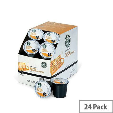 Starbucks is a coffee giant the world over, and with their verismo coffee machines, they are making moves into your kitchen. Starbucks K-Cup pods for Keurig K140 & K150 Blonde Veranda Blend Pack 24 93-07017 - Hunt Office ...