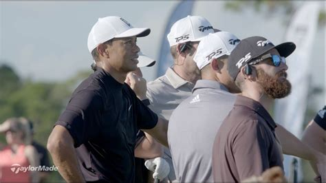 Showing the New SIM Driver to Tiger Woods, Rory McIlroy ...