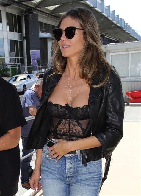 Heidi Klum At Nice Airport 05162018