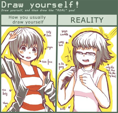 How To Draw Meme - draw yourself meme by ikure on deviantart