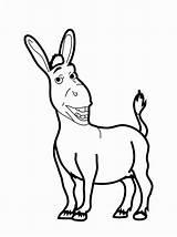 Coloring Pages Shrek Donkey Printable Drawing Tail Funny Animal Cartoon Bestcoloringpagesforkids Printables Letter Getdrawings Fun Read Getcolorings Printablee sketch template
