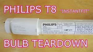 Philips T8 Led Tube Tear Down  The Most Boring Teardown Yet