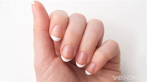 How To Diy Your Own French Manicure Sheknows