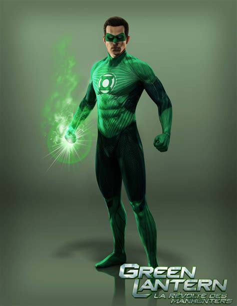 green lantern trailer on lively green