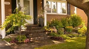 realisation cote jardin en facade plani paysage jardin With amenagement jardin facade maison