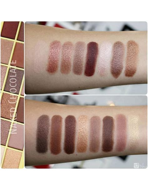 makeup revolution  palette naked chocolate oogschaduw   musthaves