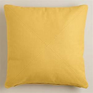 cheap yellow throw pillows yellow herringbone cotton With cheap yellow decorative pillows