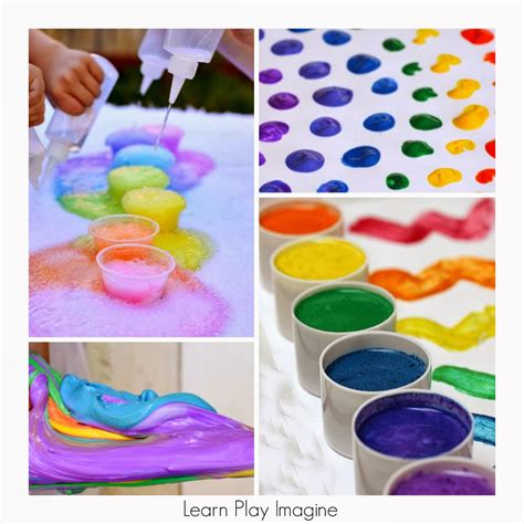 36 rainbow activities for babies toddlers preschoolers 420 | PicMonkey Collage (98)