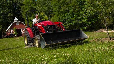 Demopark-debüt Für Yt2-traktoren Von Yanmar
