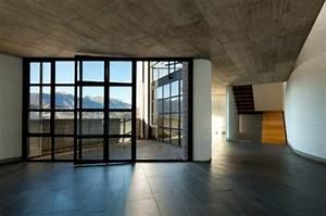 carrelage effet beton cire principe usages pose ooreka With sol effet beton ciré sur carrelage