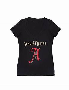 the scarlet letter women39s book t shirt out of print With scarlet letter shirt