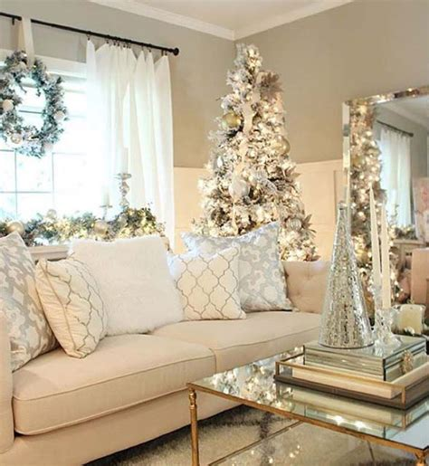 dekorasi interior rumah bertema natal  kreatif