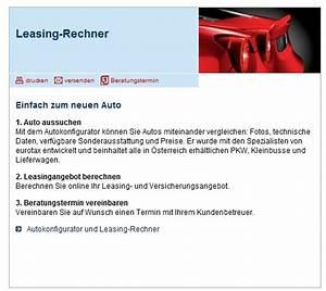 Auto Leasing Berechnen : leasingrechner sparkasse kredit sterreich ~ Themetempest.com Abrechnung