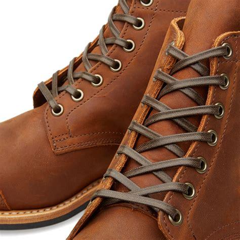 Viberg Toe Cap Service Boot Aged Bark | END.