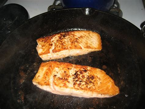 pan fish seared asian fried recipes recipe healthy dressing chinese sauce salmon whole easy pinoy urdu sear faithfulprovisions skillet pepper