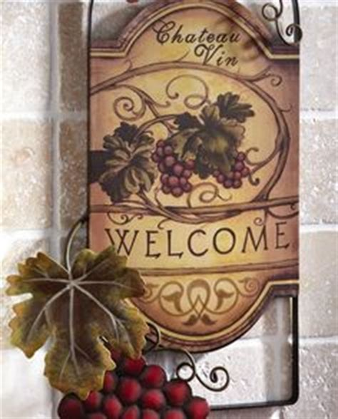 Grape Wall Decor For Kitchen by My Obsession Grapes And Tuscan Design On