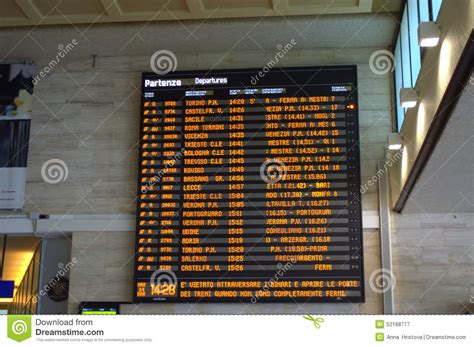 Electronic Train Timetable On Venice Railway Station Editorial Photography Line Graph For Word Highcharts On Click How To Make A Two In Google Sheets With Negative And Positive Numbers Qualitative Or Quantitative Activities 4th Grade Ielts Writing Task 1 Single Sample Answer Sats Questions
