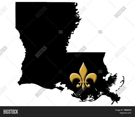 Louisiana Fleur De Lis Image & Photo | Bigstock