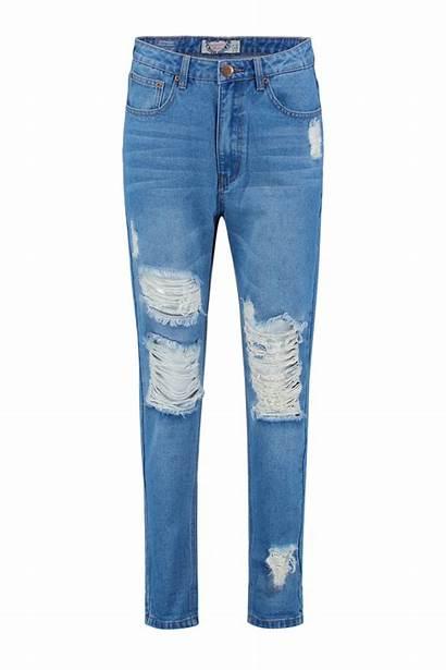 Jeans Boyfriend Ripped Boohoo Wear Mom