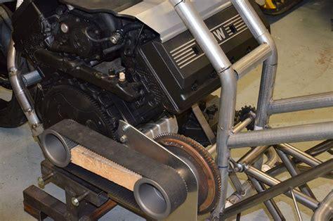 custom motorcycle   twin turbo bmw  update