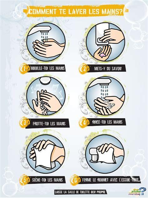 protocole de lavage des mains en cuisine collective les 25 meilleures idées concernant lavage des mains sur