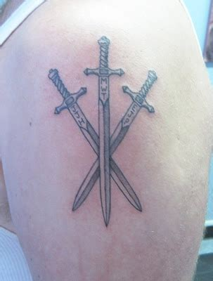 tate deans tattoo portfolio  swords