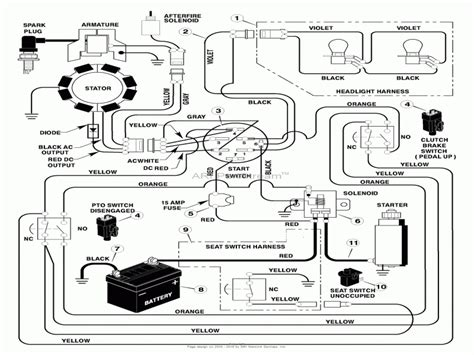 Brigg And Stratton 11 Hp Wiring Diagram by Briggs And Stratton Outboard Wiring Diagram Wiring Forums