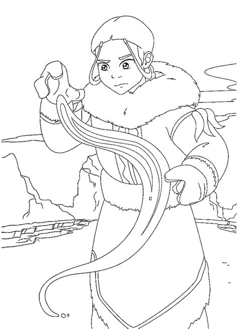 avatar coloring pages coloringpagesabc