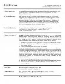 Wealth Management Cover Letter Actuary Resume