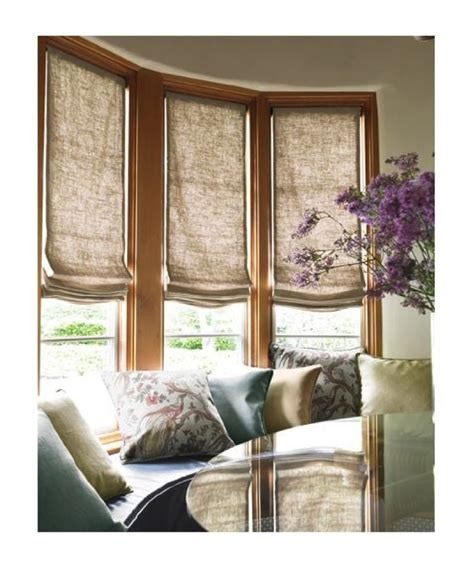 one way window privacy window treatment ideas for bay windows