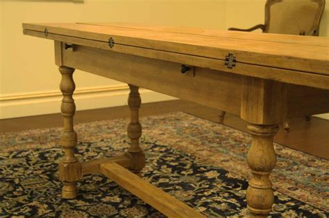 Country Flip Top Console Table, Folding table