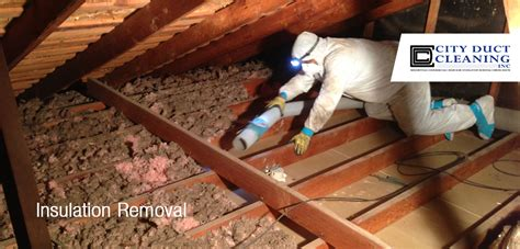 attic insulation removal toronto city duct cleaning