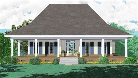2 Bedroom House Plans With Porches by 653881 3 Bedroom 2 Bath Southern Style House Plan With