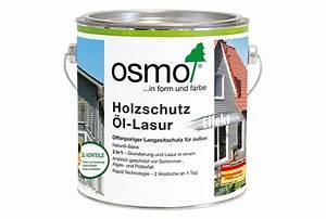 Holzschutz öl Außen : holzschutz l lasur effekt osmo holz und color gmbh co kg ~ Watch28wear.com Haus und Dekorationen
