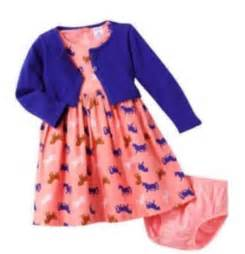 carters 6 months cardigan dress set baby clothes blue pink ebay