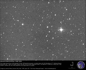 Asteroid (52665) Brianmay: an image - 02 Sept. 2016 - The ...